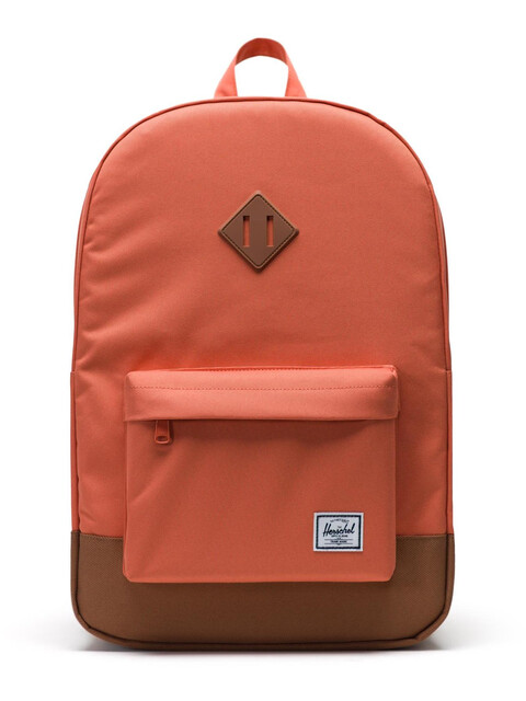 Herschel Heritage Backpack Unisex, apricot brandy/saddle brown